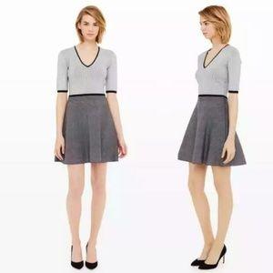 Club Monaco Wisten Polka Dot Sweater Dress